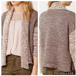 EUC Moth chunky knit metallic Woodhouse Cardigan